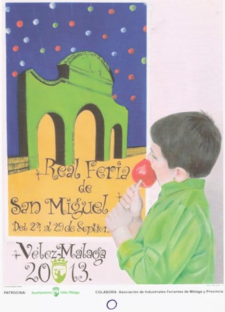 Cartel Real Feria de San MIguel 2013
